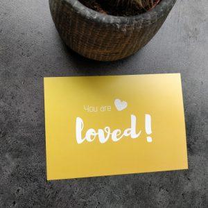 'You are loved' set van 3