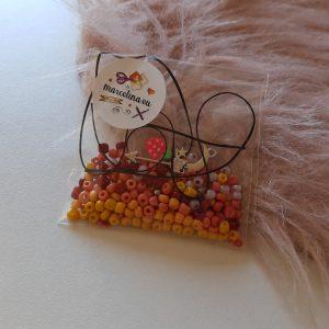 DIY setje met roze/oranje kleurtjes 4mm