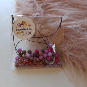 DIY setje met gemixte kleurtjes | roze/paars thema