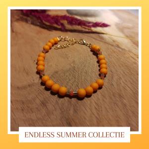 Armband 'Orange Leaves'