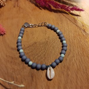 Armband 'Blueberry Ocean'