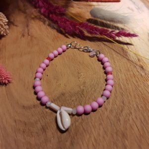 Armband 'Pink Orchid'