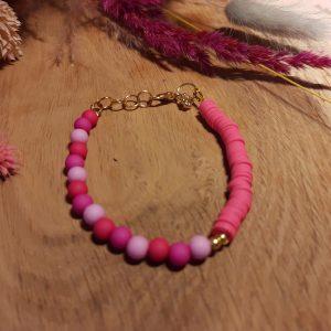 Armband 'Pink Trey'