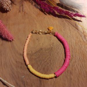 Armband 'Amber Ruby'