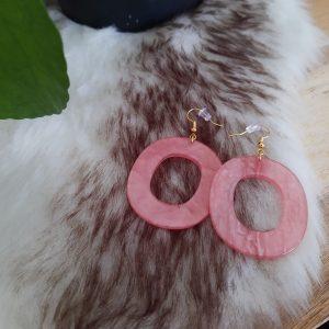 Oorbellen 'Pink Sprinkles'