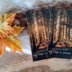 In Christ Alone || Boekenlegger set van 2