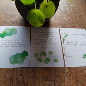 Combi-set 3 christelijke kaarten