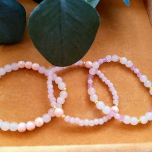 Roze armbandensetje || 3 stuks