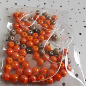 DIY-setje voor de juf || oranje