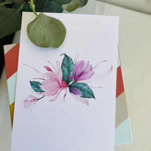Magnolia || losse kaart