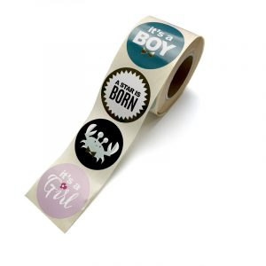 Newborn stickers || 8 stuks