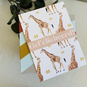 Gefeliciteerd || Giraf