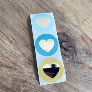 Lovely hearts    9 stuks