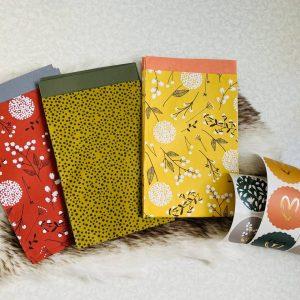 Herfst inpakset || cadeauzakjes en stickers
