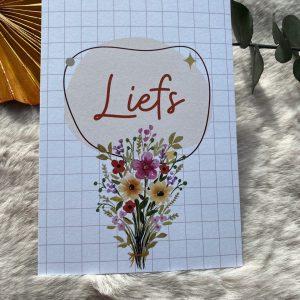 Liefs || losse kaart